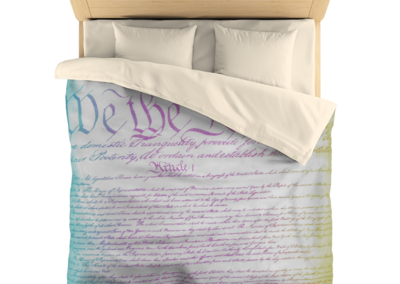 Constitution Duvet Cover