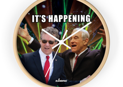 It's Happening Wall Clock